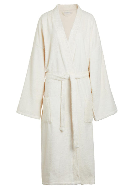 beige terry cloth robe - Terry Cloth Robe