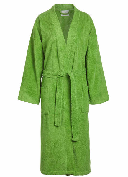 thick robes green
