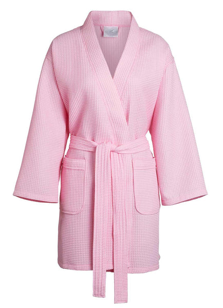 pink lightweight womens robe