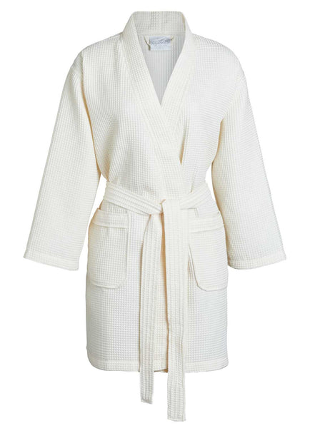 lightweight womens robe beige