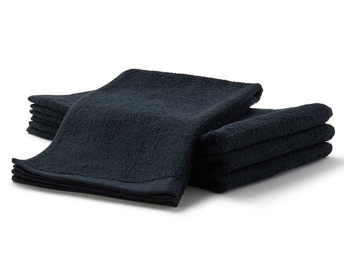 black terry salon towels