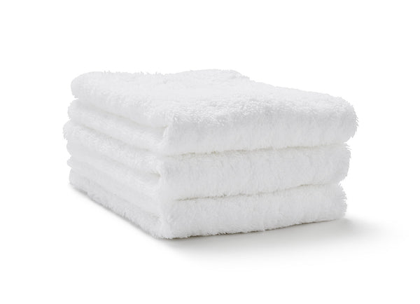 egyptian cotton white washcloth