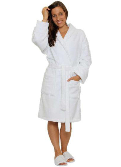 womens velour robe