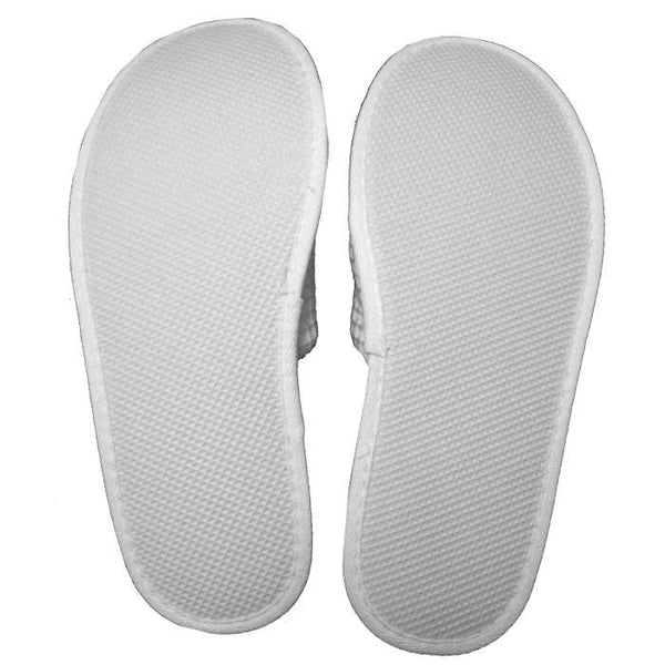 Mens Womens Open Toe Waffle Slippers
