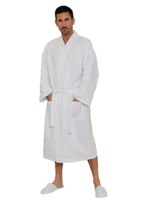100 natural cotton spa robes