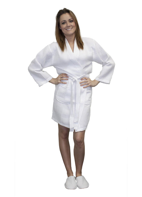 Womens robes waffle