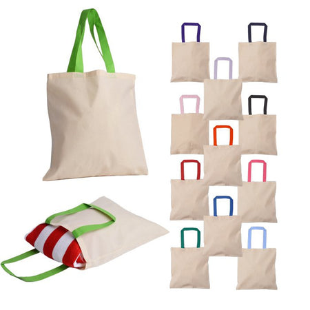 Canvas Book Bags With Gusset