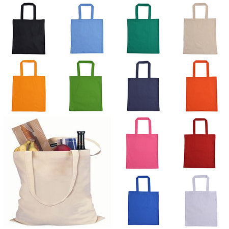 Lightweight Cotton Canvas Tote Bag