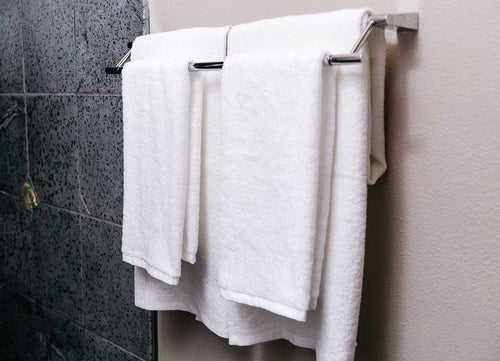 bulk white bath towels