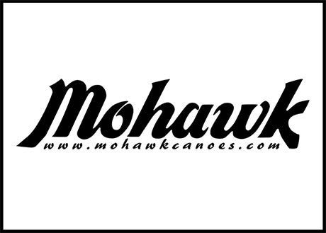 Mohawk Canoe Logo Decal
