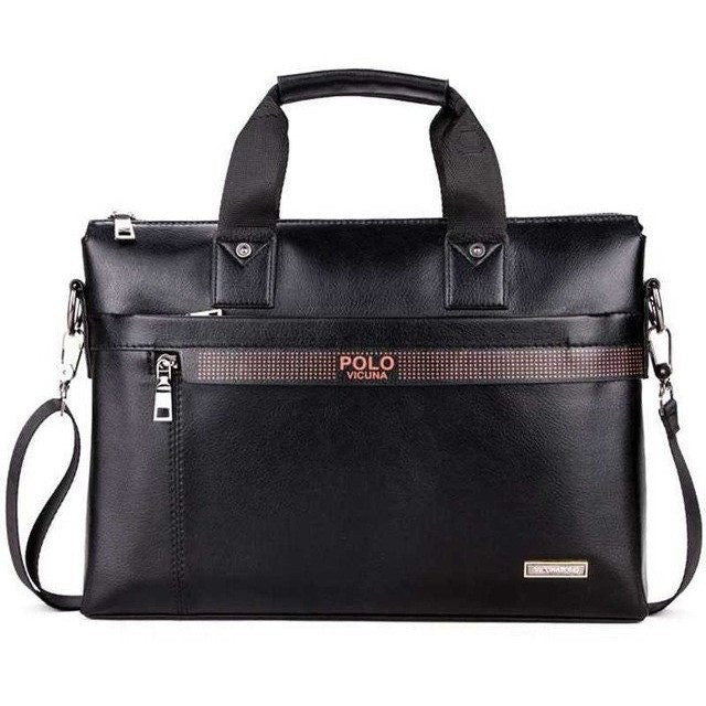 Promotion Simple Dot Famous Brand Business Men Briefcase Bag at Bagz Central for only $34.99