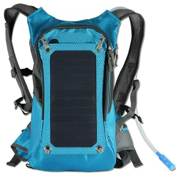KUNDUI High quality Blue 5V Solar Panel Battery Charging  Backpack at Bagz Central for only $145.99