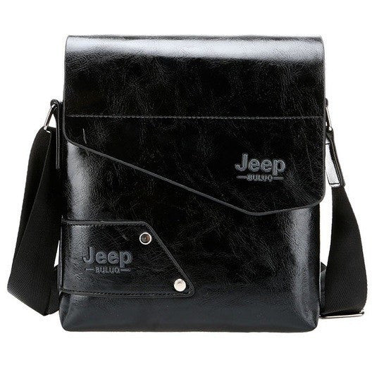 Jeep Leather Messenger Shoulder Bag at Bagz Central for only $25.99