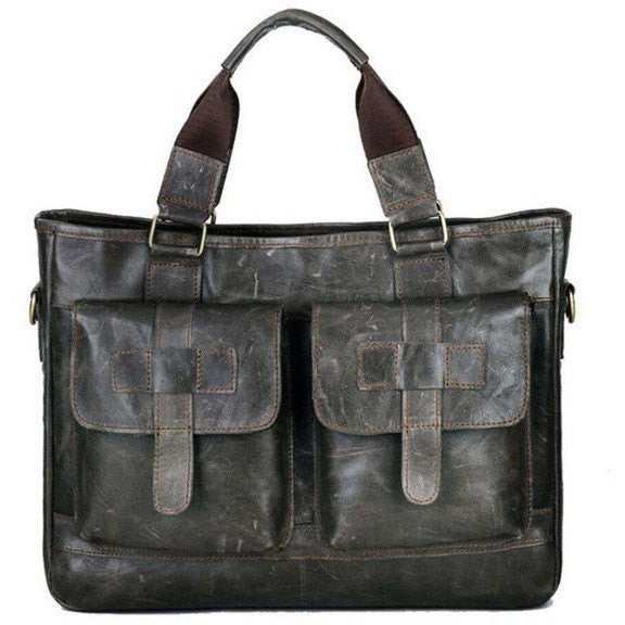 BULL CAPTAIN  Leather Business Handbag at Bagz Central for only $81.99