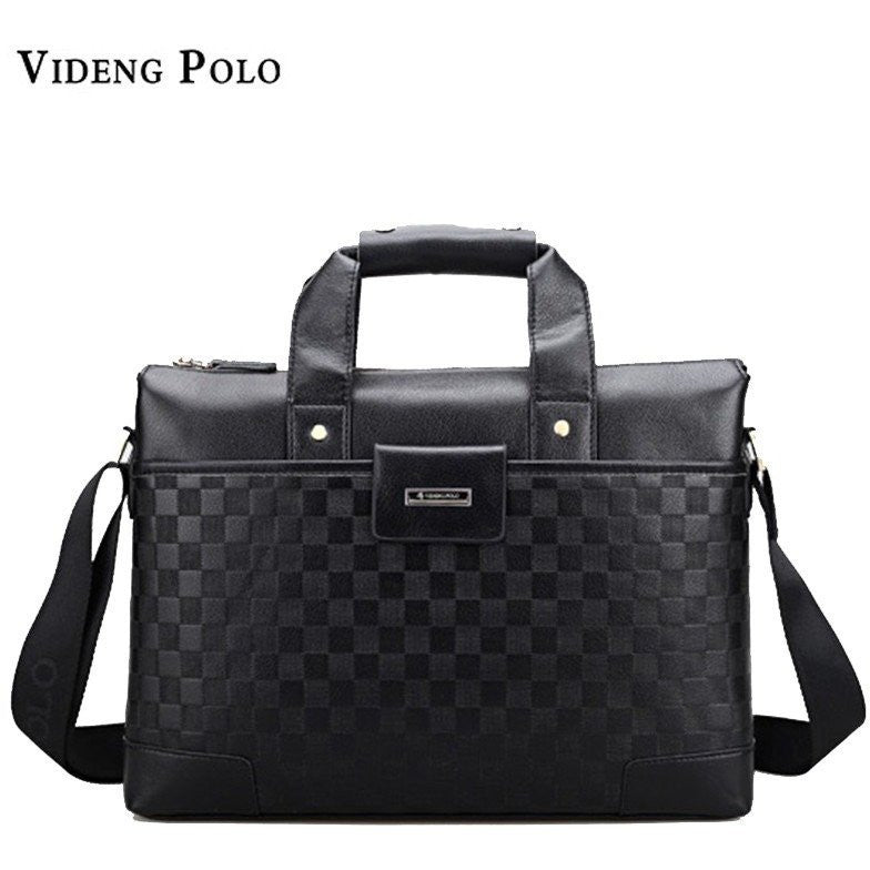 VIDENG POLO Fashion Brand Men's Handbag 14 inch Laptop Handbags at Bagz Central for only $48.99