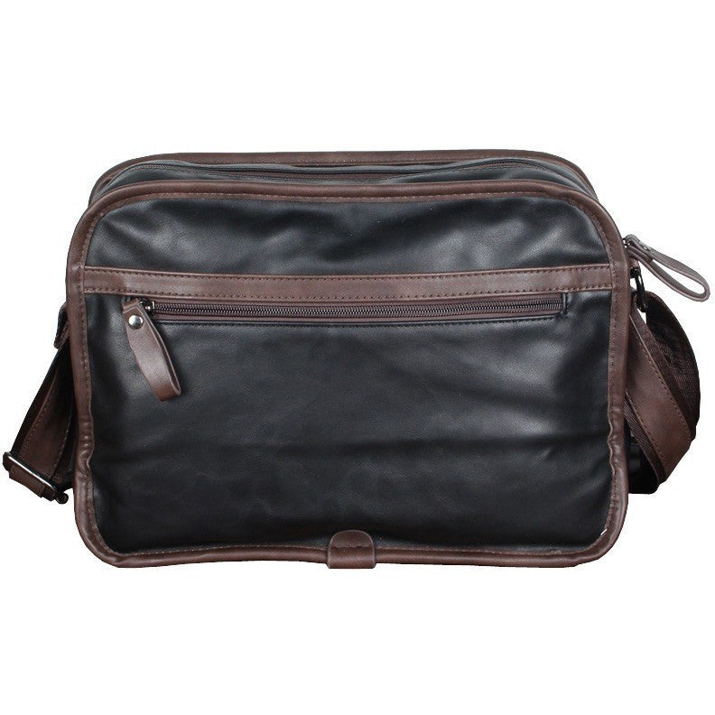 Polo Mens Leather Messenger Handbag at Bagz Central for only $35.99