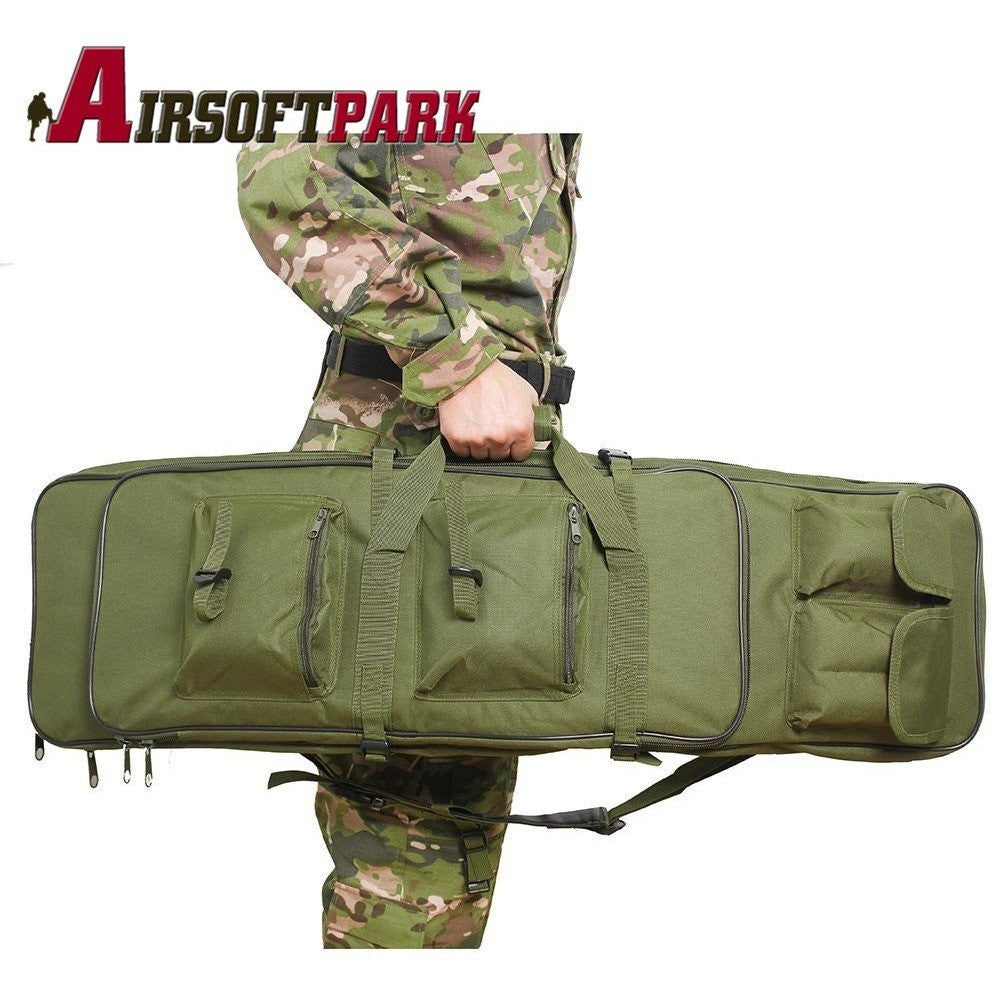 Tactical 120cm Double Rifle Storage Case at Bagz Central for only $67.99