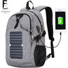 FENRUIEN Limited Production Solar Powered Backpack 25L Capity Cell Phone Charger Backpack at Bagz Central for only $99.99