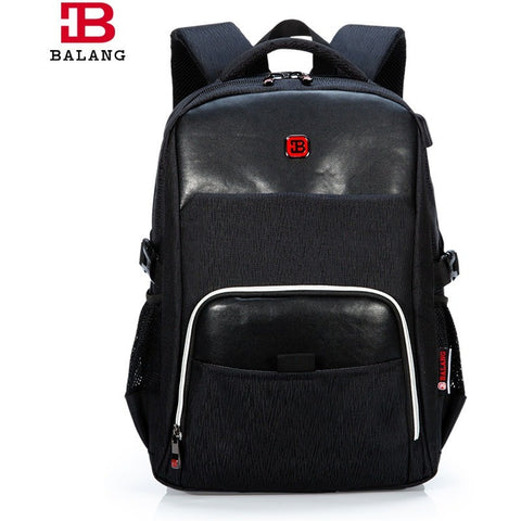 2017 Exclusive Leather BALANG Bags Waterproof  Backpack For Business or School! at Bagz Central for only $62.99