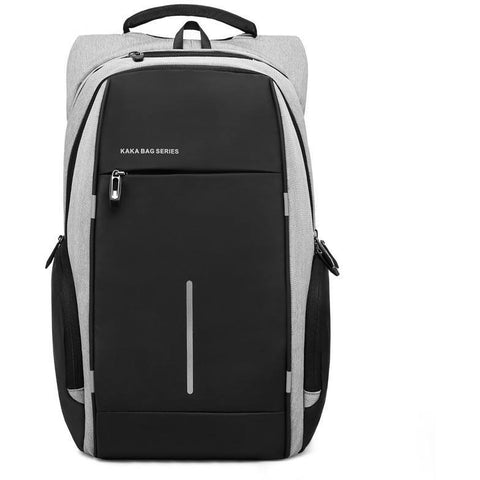Balang Backpacks Dual Color Grey and Black Water Proof Business Laptop Business Bag at Bagz Central for only $59.99