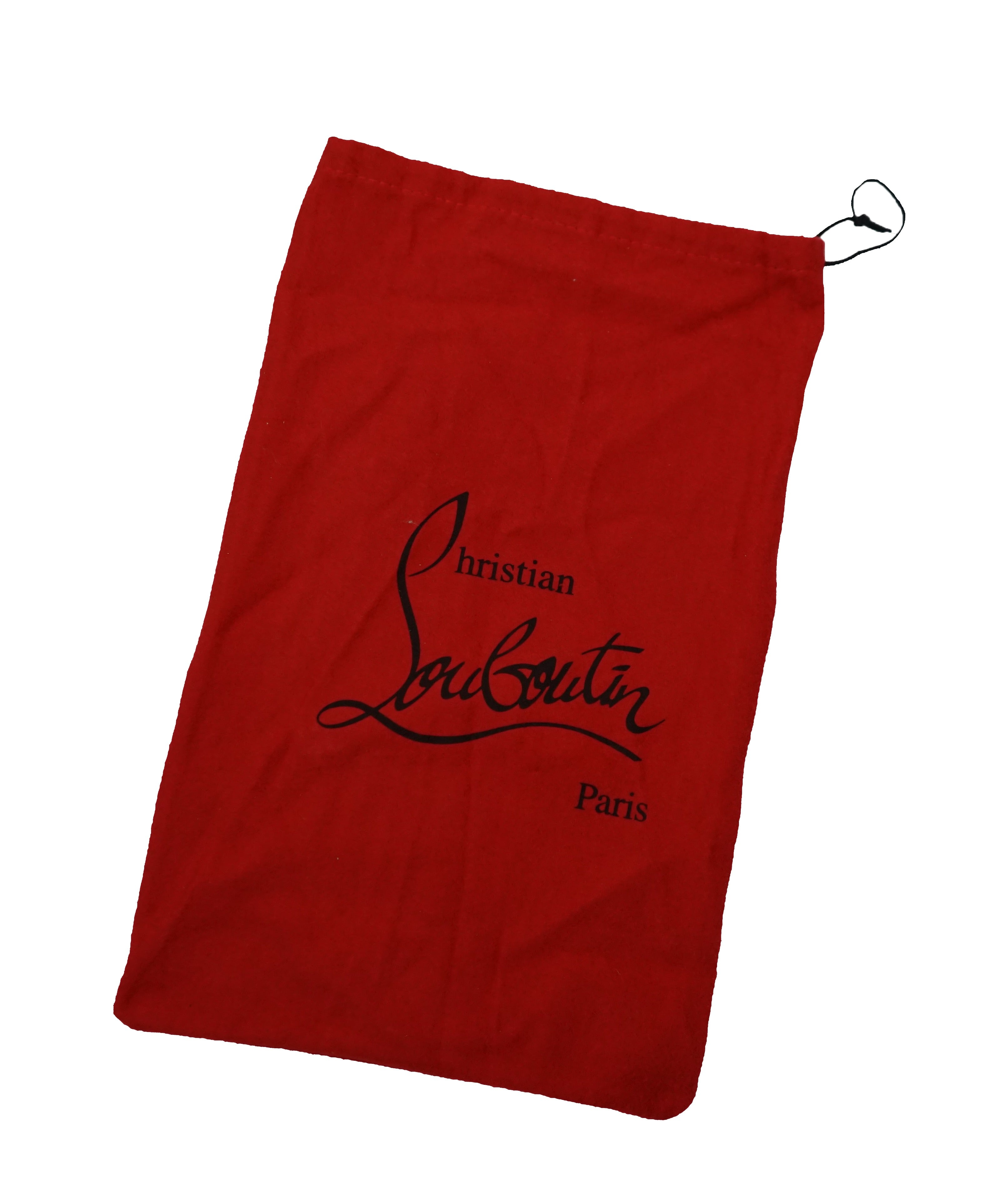 CHRISTIAN LOUBOUTIN- Brand New Logo Monogram Bag-Dust/Storage Bag! Draw String !