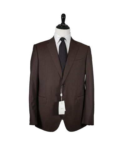 HICKEY FREEMAN - LORO PIANA Tasmanian Super 150's Burgundy/Blue - 40s