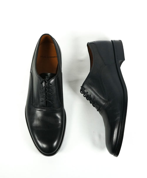 "BALLY - "" Bromiel"" Black Oxfords With Leather Soles - 9.5"