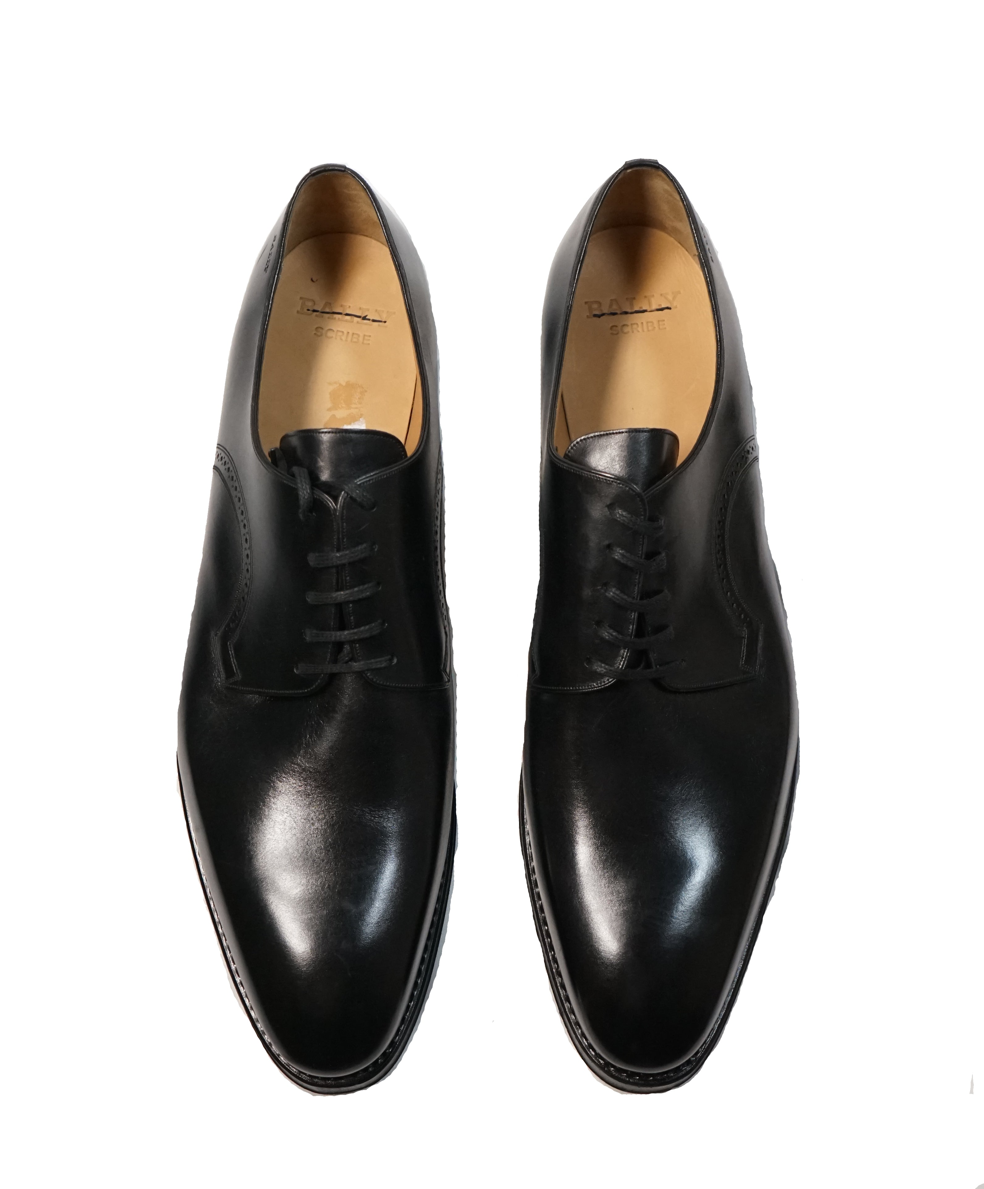 "BALLY - ""SCRIBE"" Goodyear Welt Oxfords - 13"