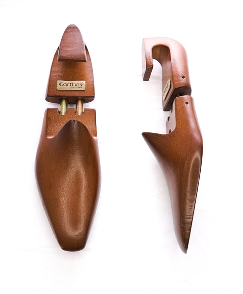 CORTHAY - Wooden Double Barrel Lasted Shoetree /Shoe Tree - 9