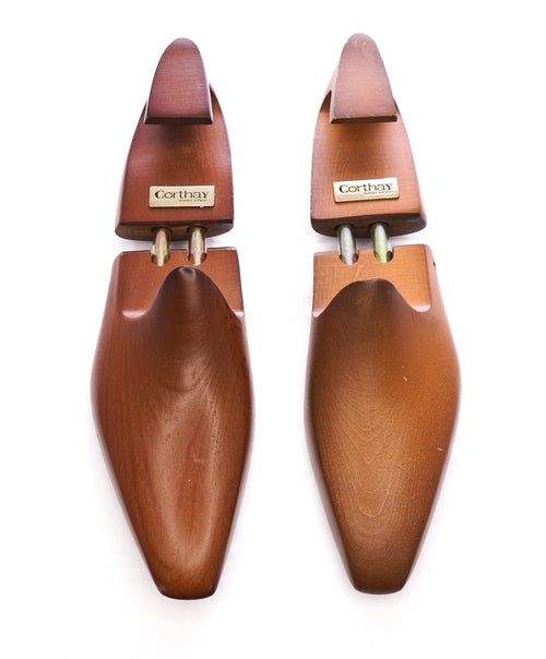 CORTHAY - Wooden Double Barrel Lasted Shoetree /Shoe Tree - 12