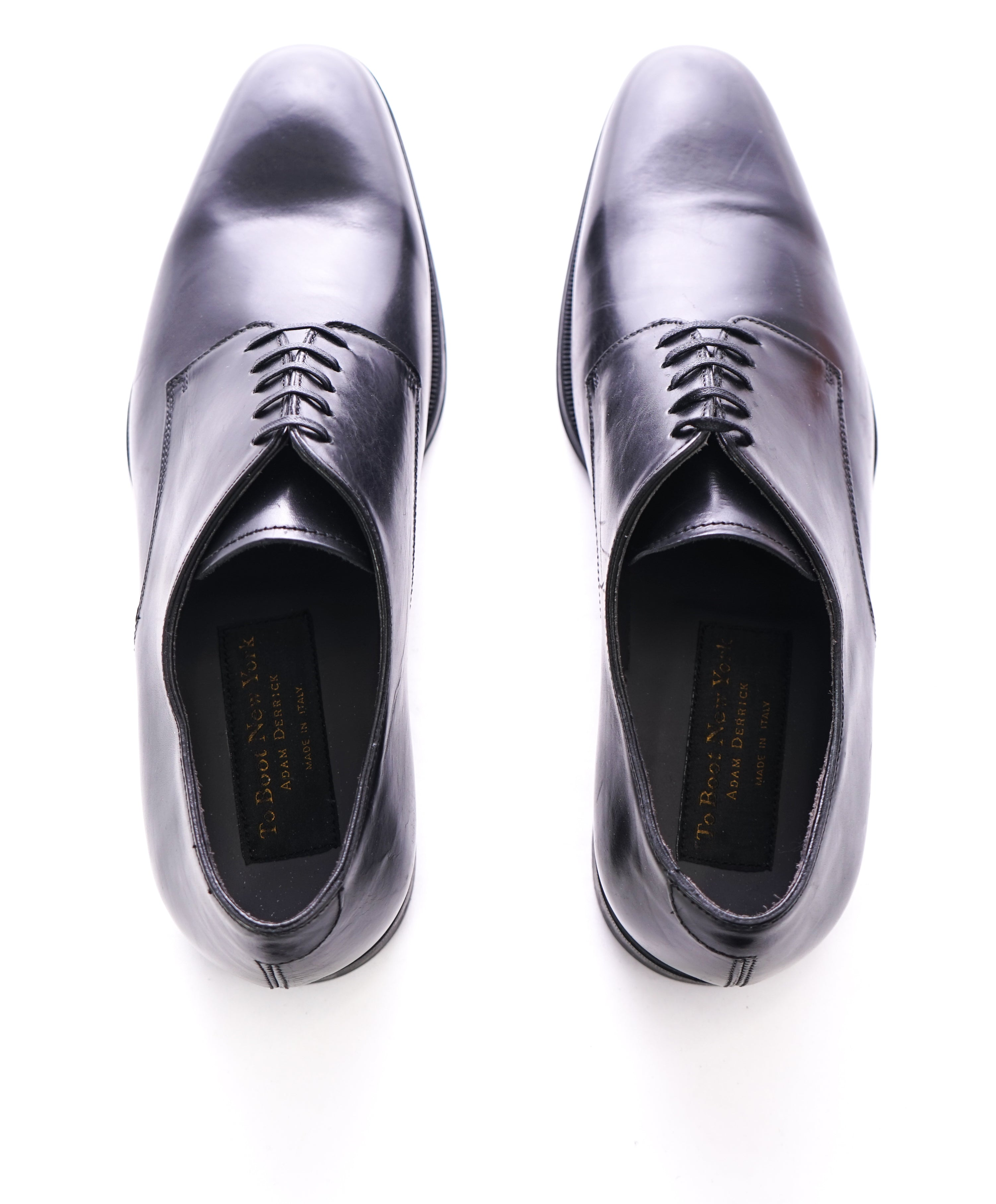 TO BOOT NEW YORK - Plain Vamp Oxfords W Round Toe & Durable Sole - 9