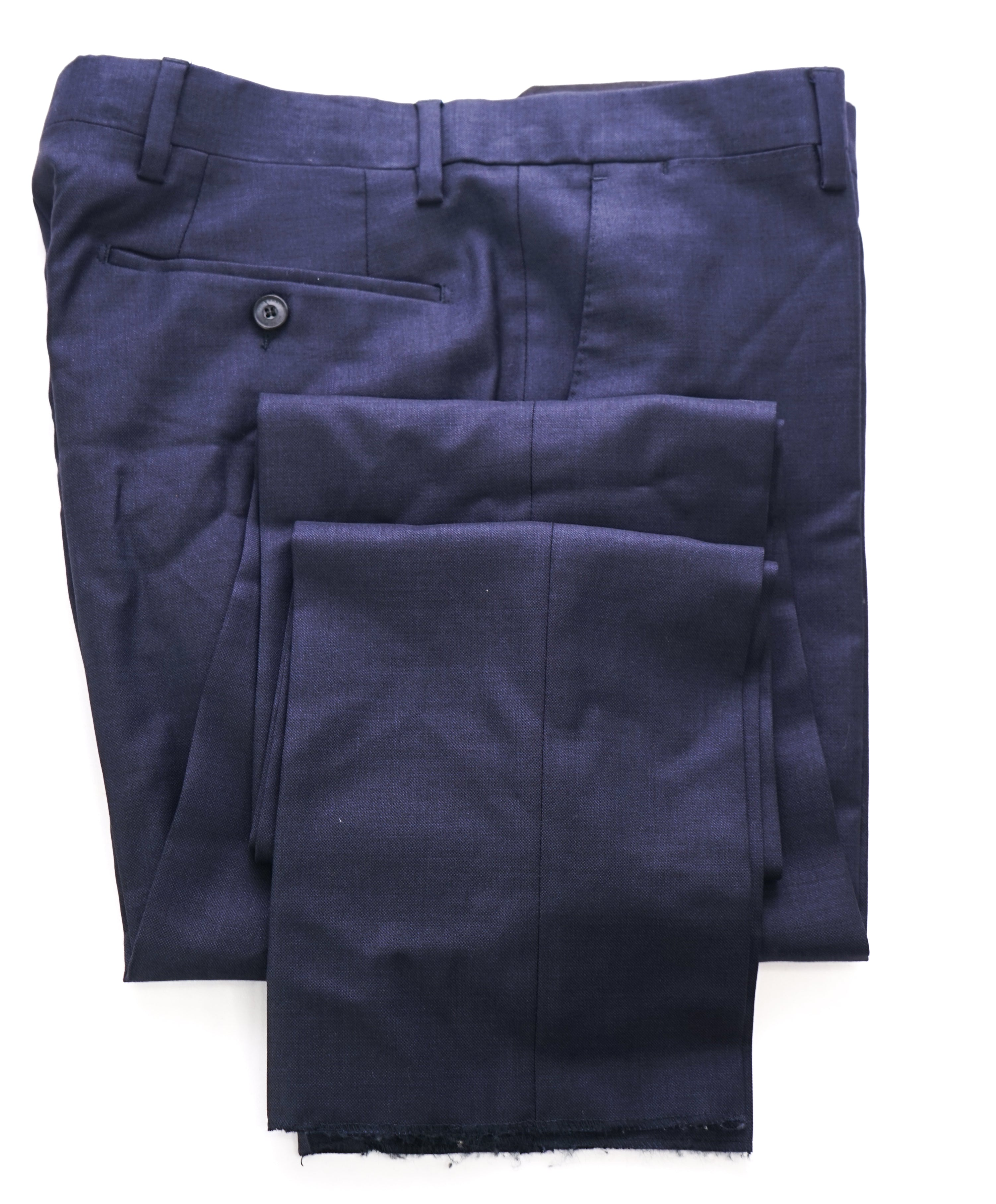 BURBERRY LONDON - Made in Italy Blue Flat Front Dress Pants - 31W