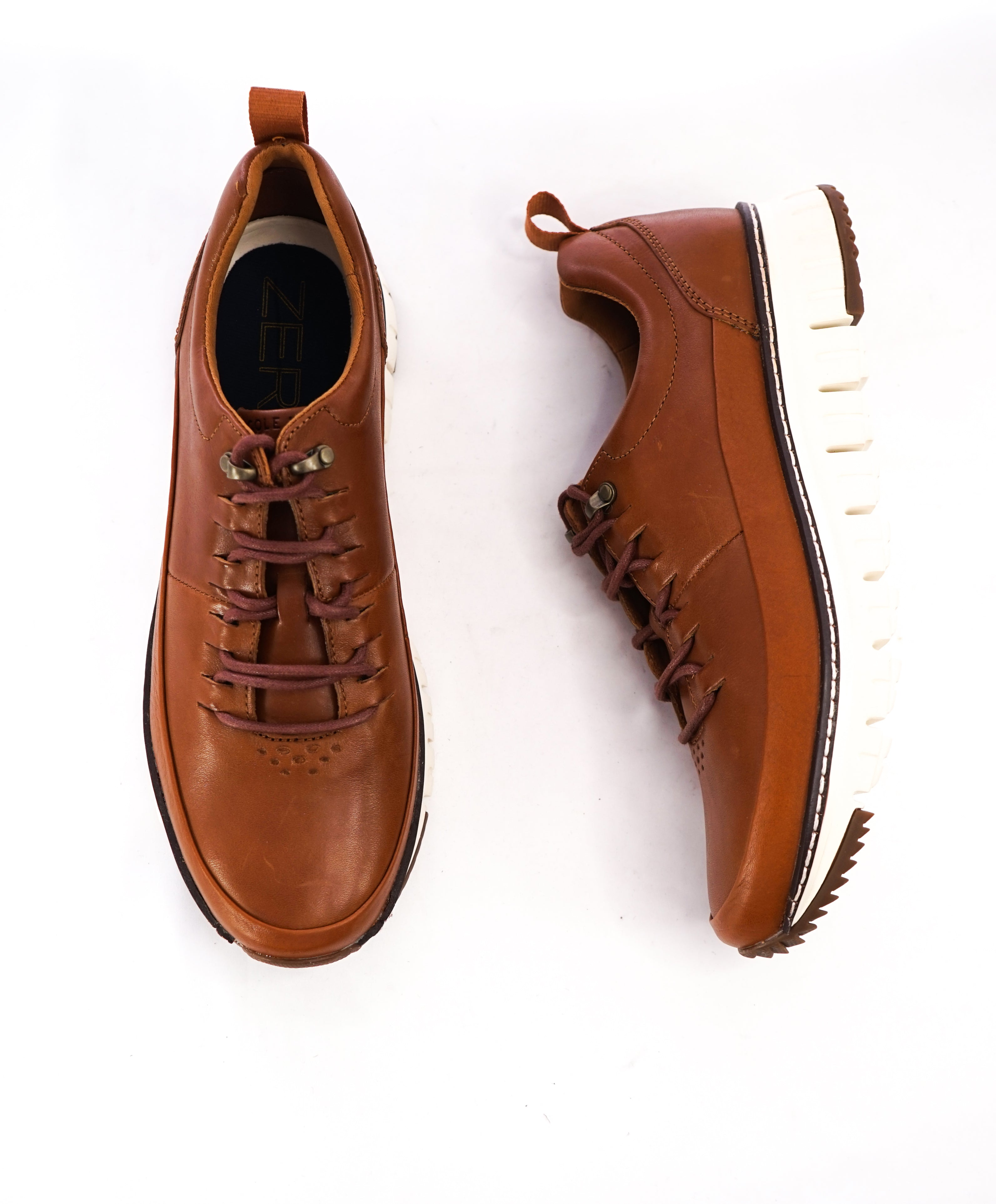 COLE HAAN - Zero Grand Brown Leather