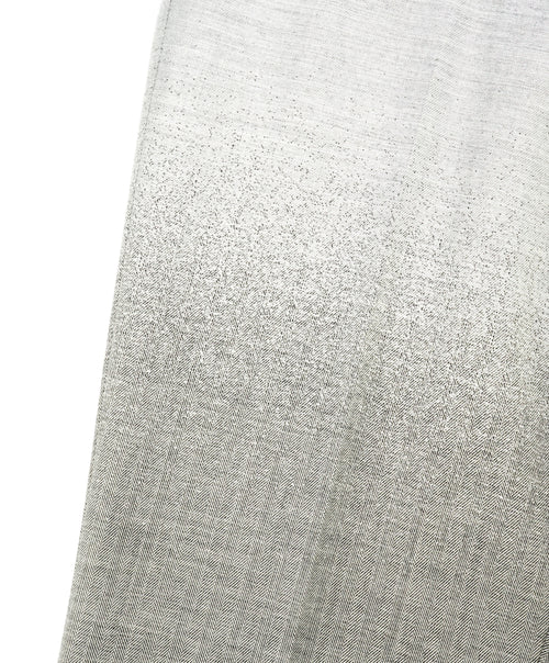"JOHN VARVATOS - ""Main Line"" Gradient Gray & Herringbone Dress Pants - 32W"