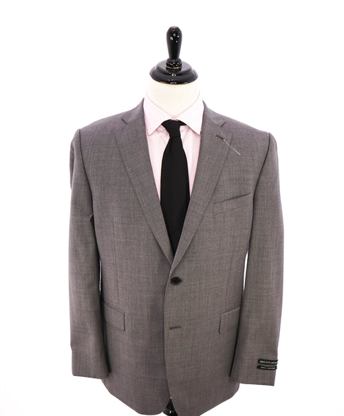 SAKS FIFTH AVENUE - Solid Gray Closet Staple Blazer- 44R
