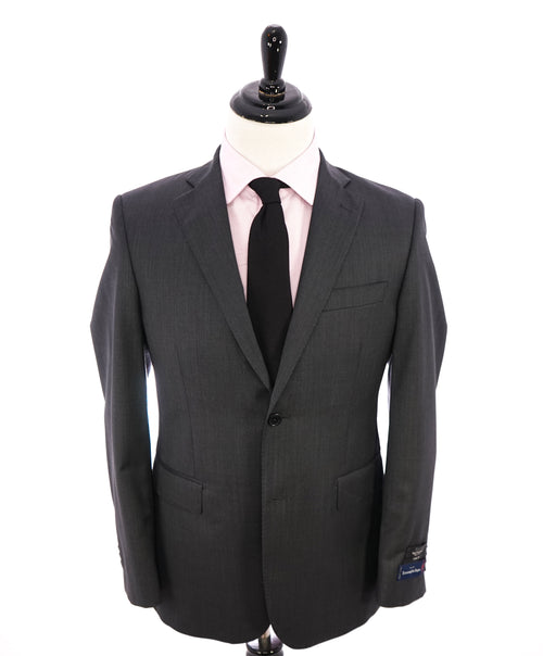 "SAKS FIFTH AVENUE - By ERMENEGILDO ZEGNA ""SILK"" Gray Slim Blazer - 38R"
