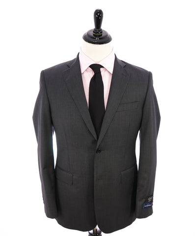 THEORY - Navy & Blue Seersucker Check Wool/Elastane Blazer- 42R