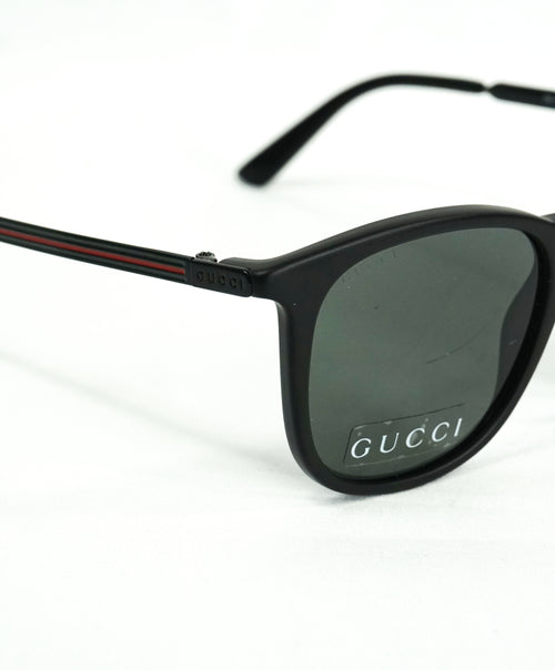 GUCCI - GG1130/s Logo Red & Green Temple Sunglasses - 51-21 145