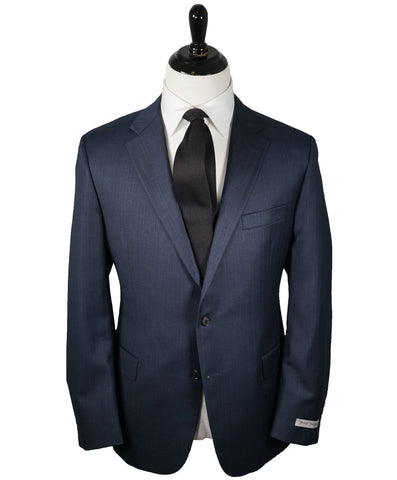 HUGO BOSS - Notch Lapel Microcheck Suit - 44R