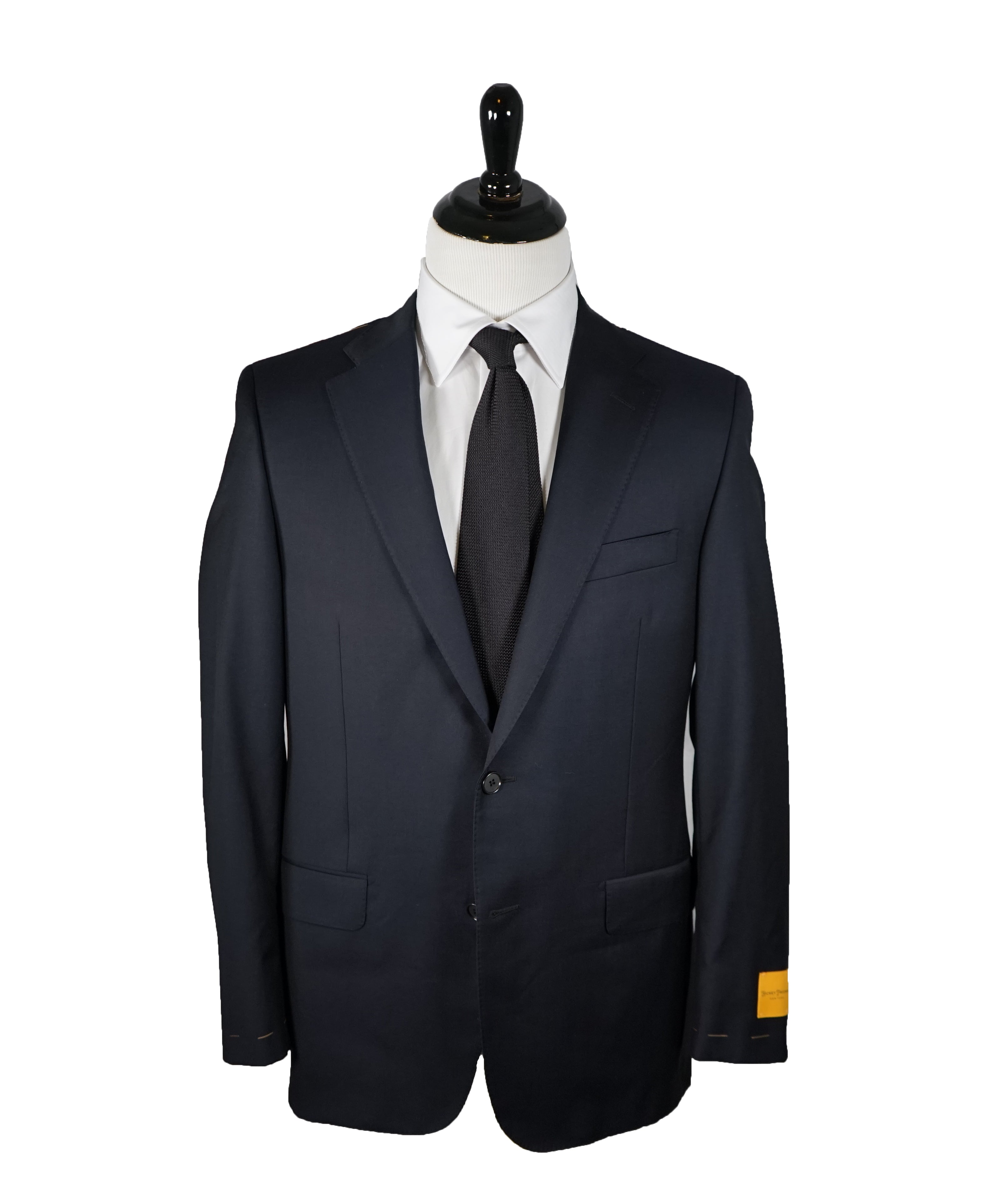 HICKEY FREEMAN LORO PIANA - Navy 2-Button Suit 150's Tasmanian Wool - 40R