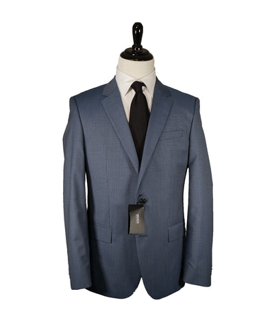 "MANUEL RITZ - ""SILK Blend"" MultiColor Check Suit Premium Bright Details - 38S"