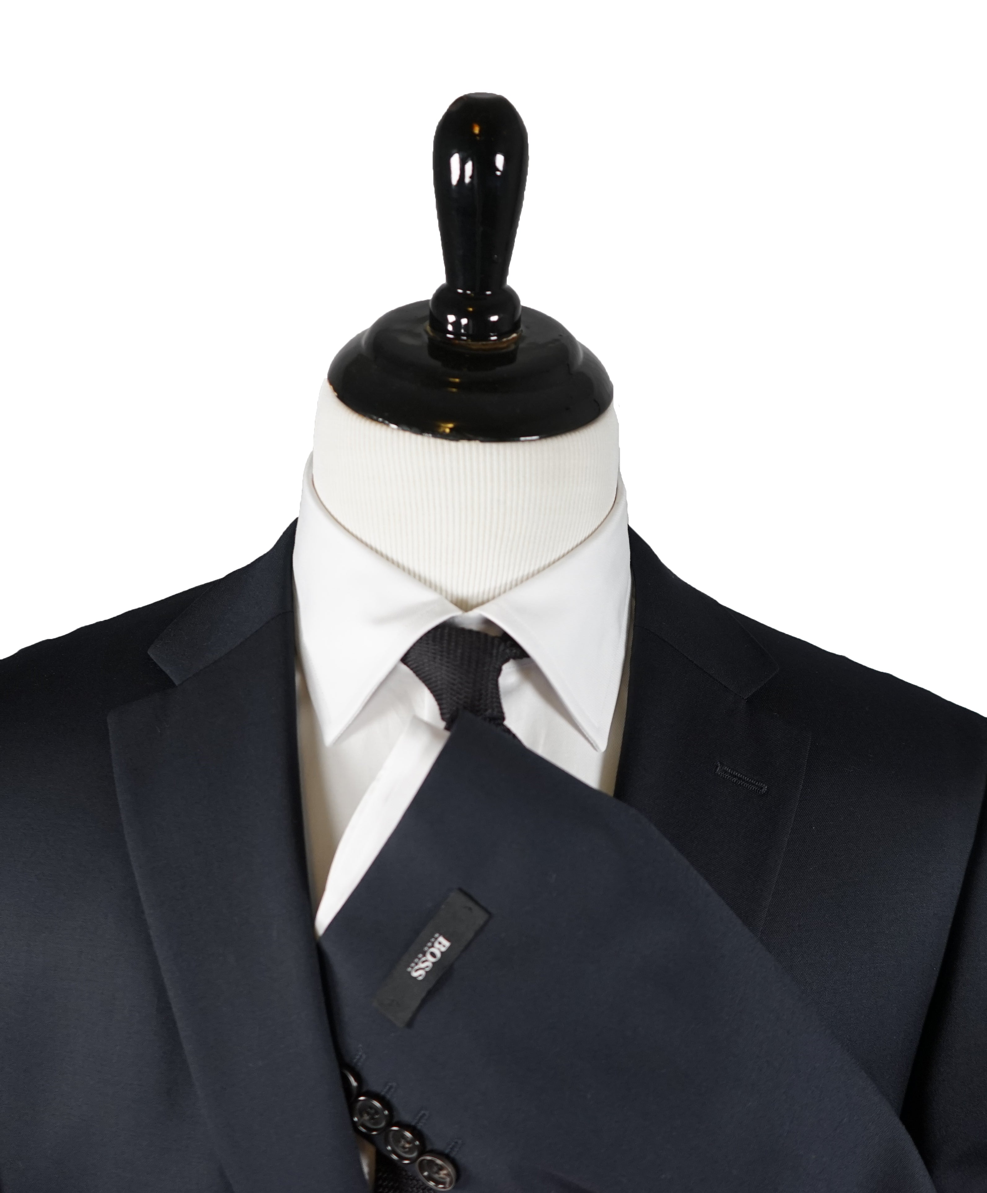 HUGO BOSS - Navy 2-button Suit REDA Super 100's Fabric - 42R