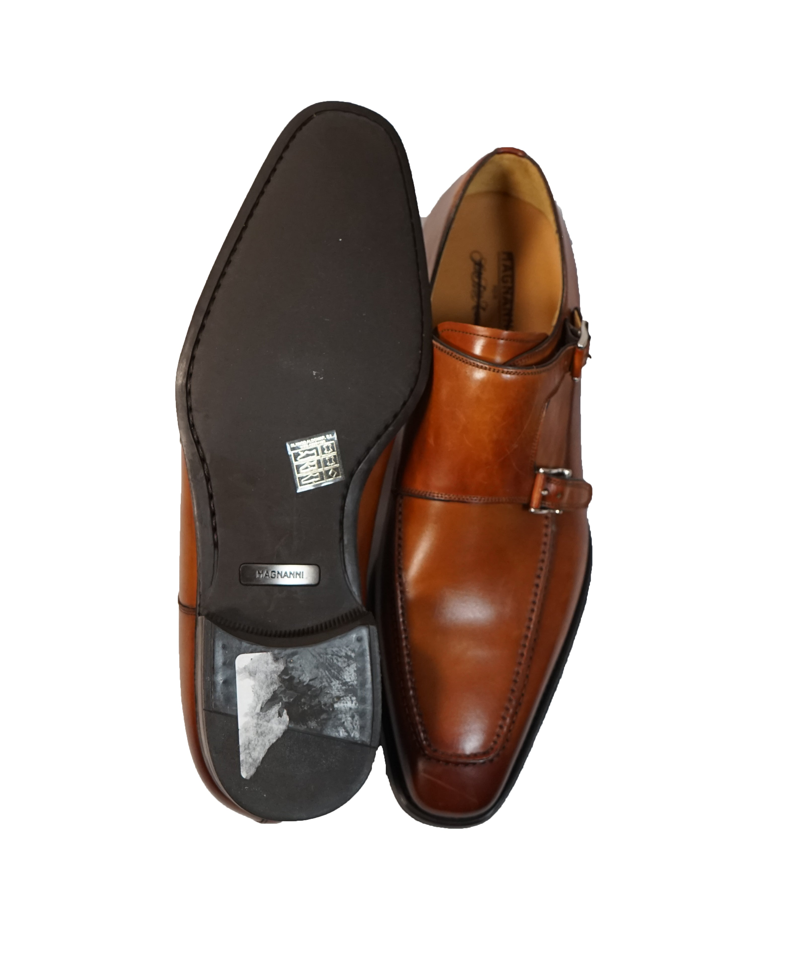 MAGNANNI FOR SFA -Double  Monk Strap Loafers- 10