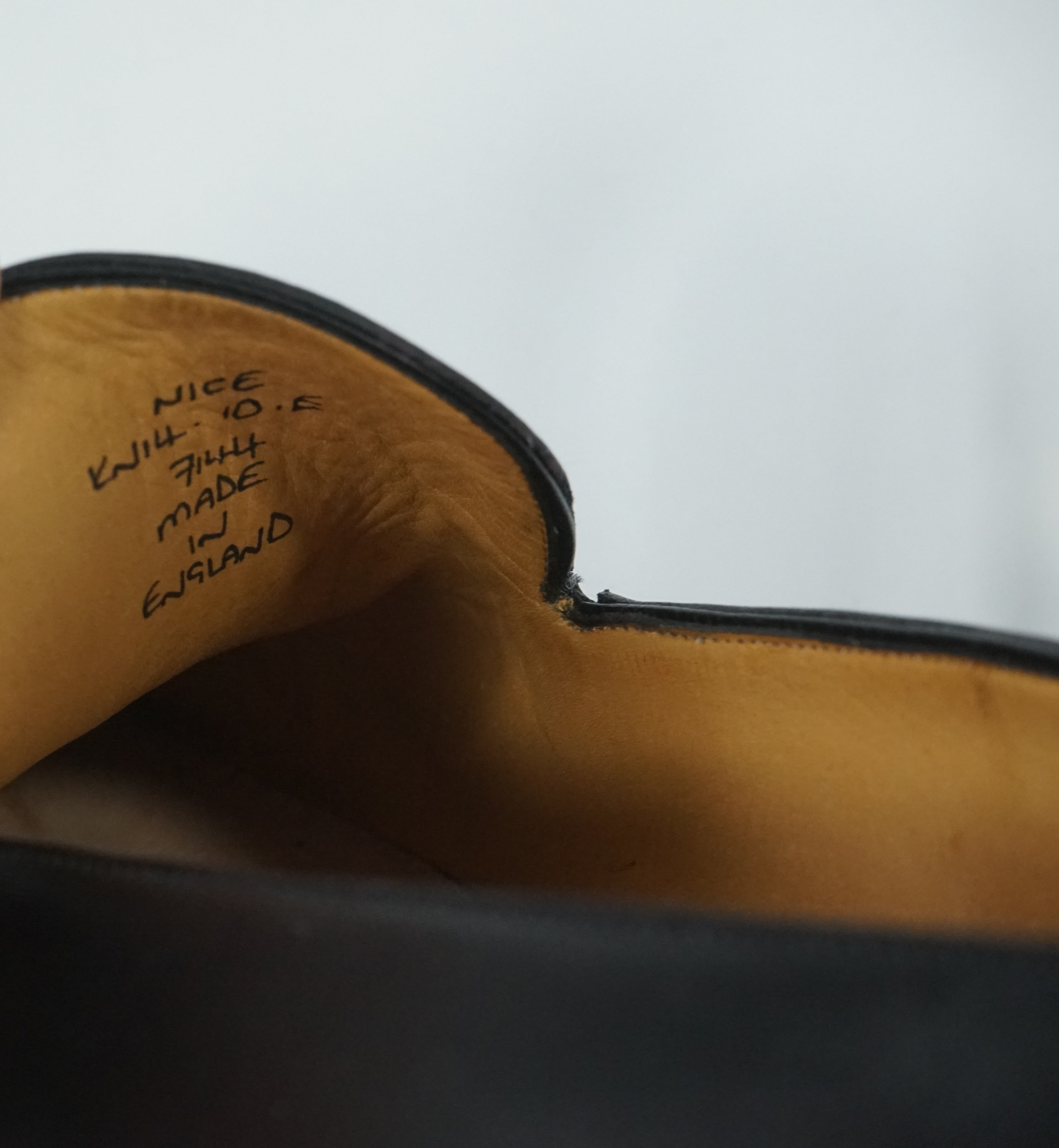 PAUL STUART by GAZIANO GIRLING - Wholecut Leather Loafers Made In UK - 10.5
