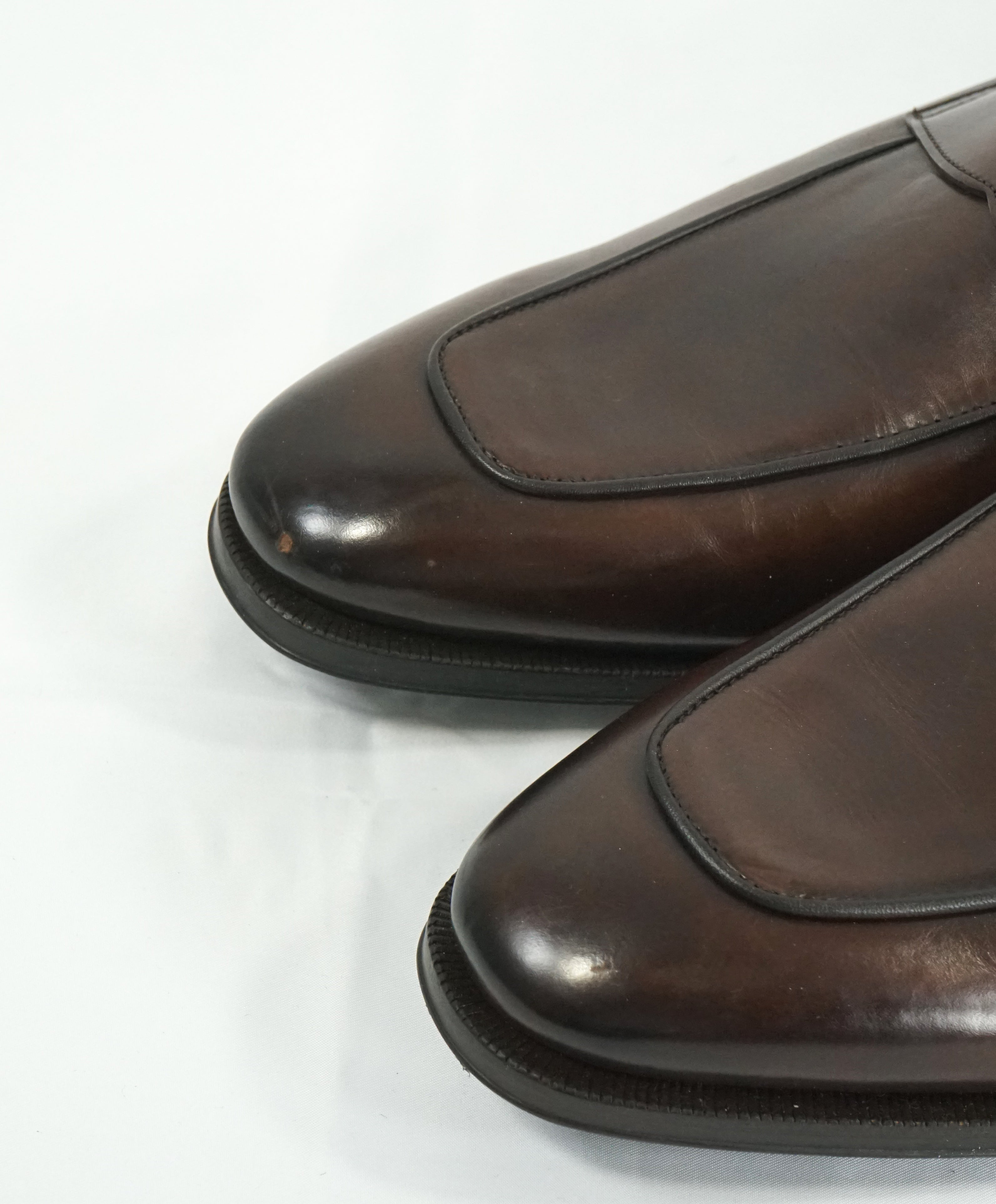 "TO BOOT NEW YORK - ""Dupont"" Coco Premium Grade Leather Penny Loafers - 9.5"