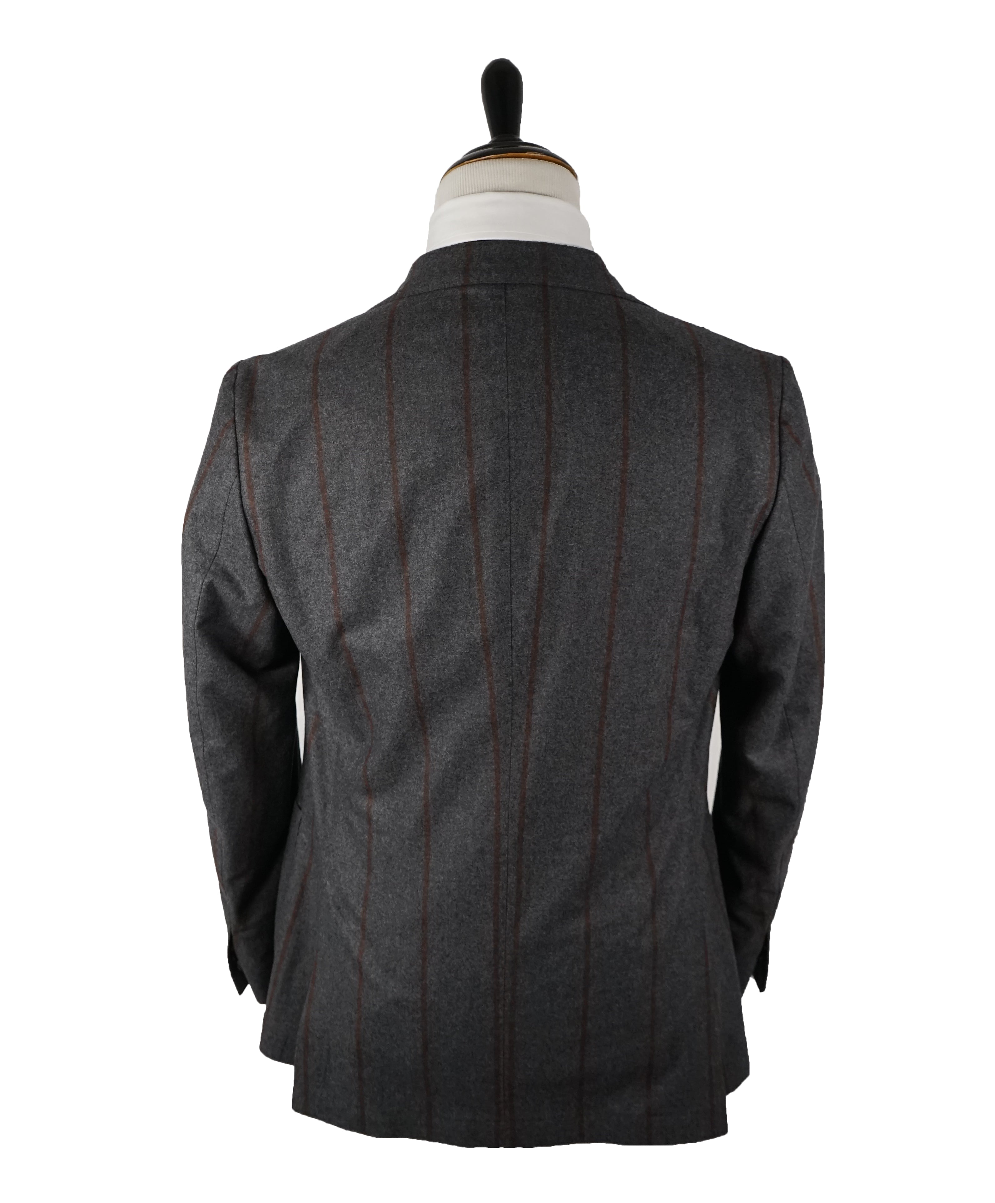 TOMBOLINI - Double Breasted Cashmere & Silk Blend Weightless Suit - 42R