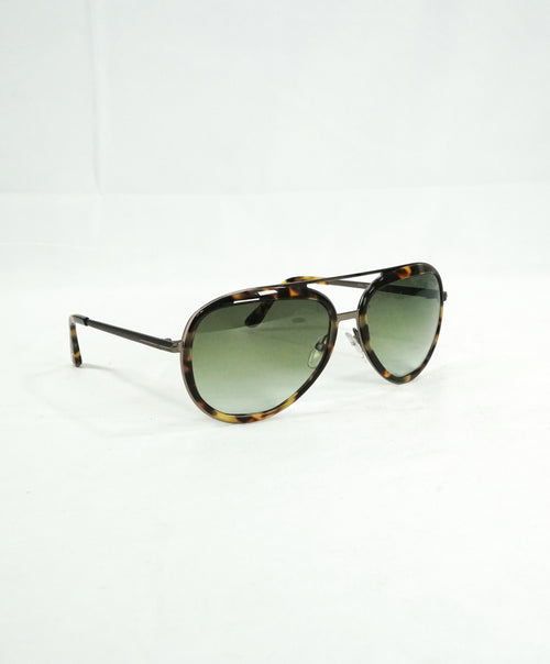 "TOM FORD - ""TF468"" ANDY Havana Tortoise Shell Gradient Lens Sunglasses - 58-17 140"