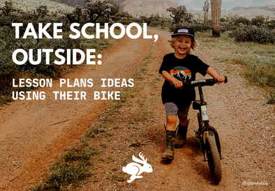 Take School, Outside: Bike Lesson Ideas for Kids of All Ages