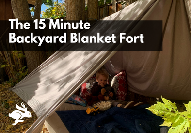 The 15 Minute Backyard Fort