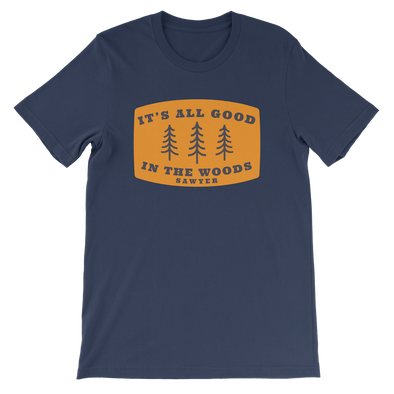 All Good in the Woods Tee - Navy